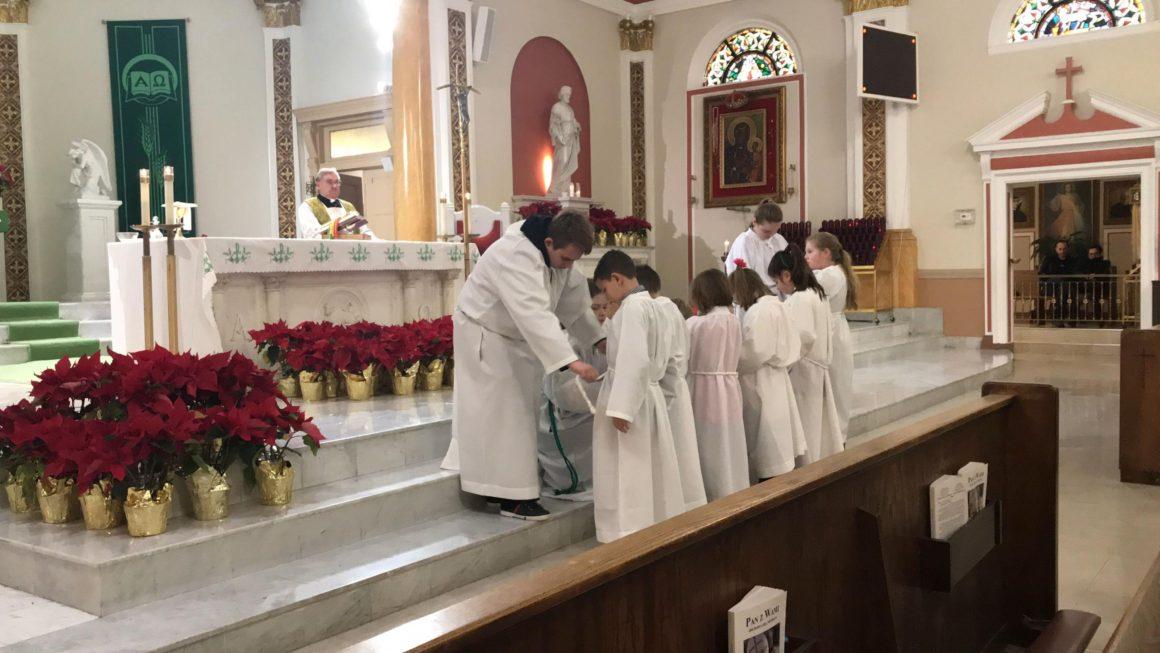 Msza Św. i Przyjęcie do Wspólnoty Ministranckiej