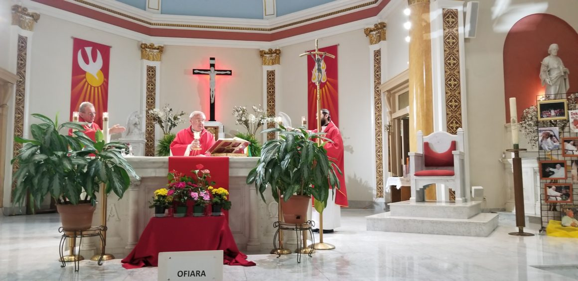 Uroczystość Zesłania Ducha Św. i Apel Jasnogórski